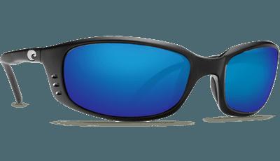 Picture of Brine Sunglasses - Matte Black/Blue Mirror 580G