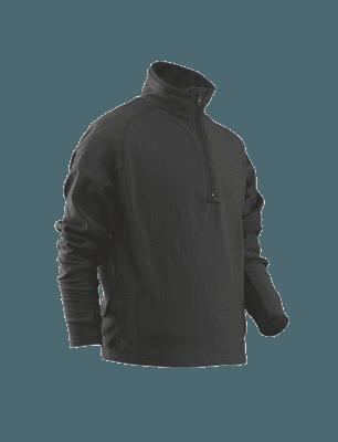 Picture of Men's 24-7 Series® Grid Fleece Pullover - 94/6 Polyester/Spandex - Black - M - Regular
