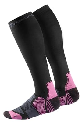 Picture of Clearance - Women's Essentials Compression Socks - Black/Bright Pink - M