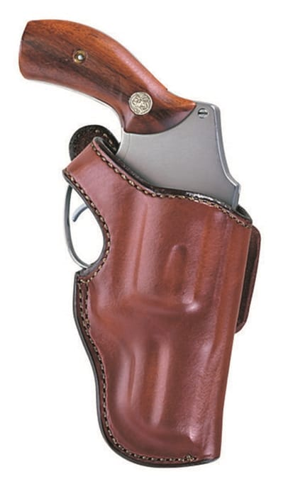 Bianchi - 55L Lightning Suede Lined Leather Holster - Charter Arms