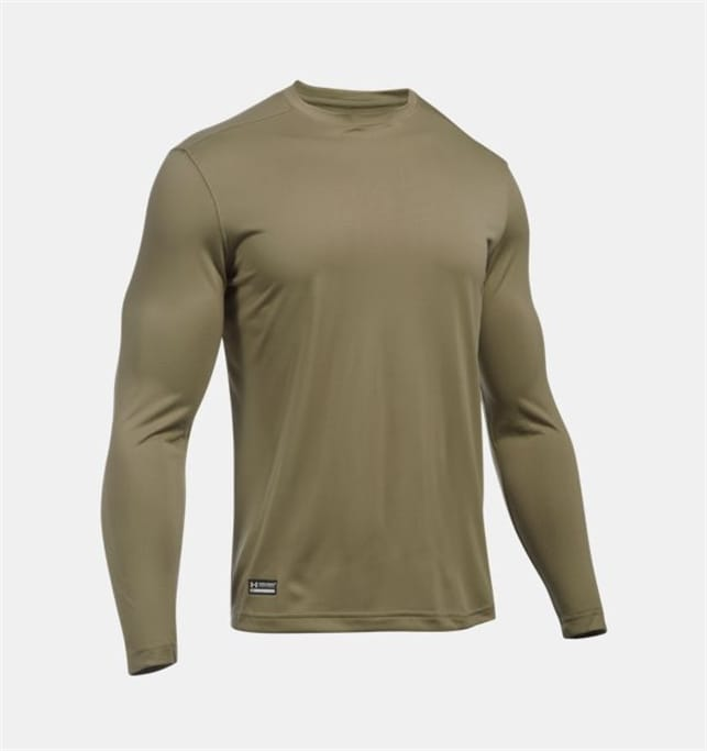 0ef678925d30 Under Armour - Men s Tactical Tech Long Sleeve T-Shirt Military ...