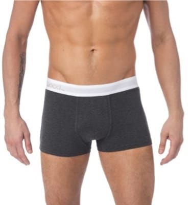 Picture of Men's Trunk Underwear - Charcoal Heather - M
