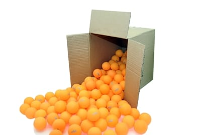 Picture of Clearance - 1-Star Table Tennis Balls - 144 Pack - Orange