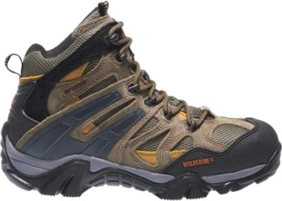 Picture of Men's Wildeness Steel Toe Hiker Boots - Tan - 7 - Medium