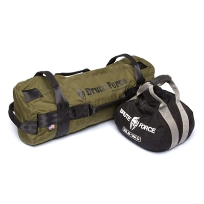 Picture of Kettlebell and Athlete Sandbag Combo Kit - Black/Army Green - 45 lbs