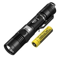 Picture of MH12GT Multitask Hybrid 1000 Lumen Long Throw Rechargeable Flashlight - GovX Exclusive - Black