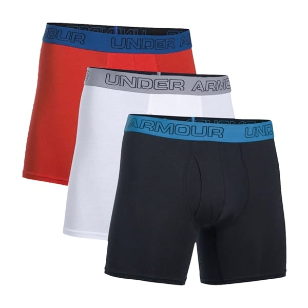 3d708c175786 Under Armour - Charged 6'' BoxerJock Underwear - 3 Pack - Military & Gov't  Discounts | GovX