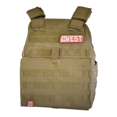 Picture of Invest Pro Weight Vest - Coyote Tan - 20 lbs