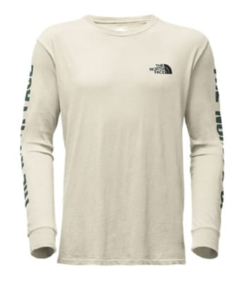 Picture of Men's Long Sleeve Have You Herd Well Loved Cotton T-Shirt - Vintage White - L