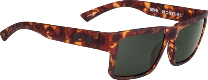 8fcdd4ddda Montana Sunglasses - Soft Matte Camo Tort - Happy Gray Green