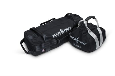 Picture of Kettlebell and Athlete Sandbag Combo Kit - Black/Black - 45 lbs