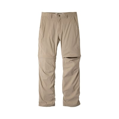 Picture of Men's Equatorial Stretch Convertible Relaxed Fit Pants - Classic Khaki - 30 - 30