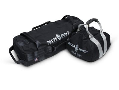 Picture of Kettlebell and Stongman Sandbag Combo Kit - Black/Black - 45 lbs