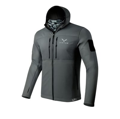 Picture of Men's LEAF Helios Base Layer Jacket - Grey - S