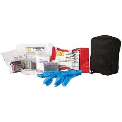 Picture of First Responder Pouch with Contents - Large - Black
