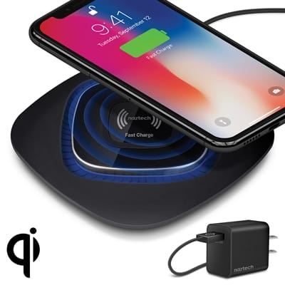 Picture of Power Pad Qi Wireless Fast Charger - Black