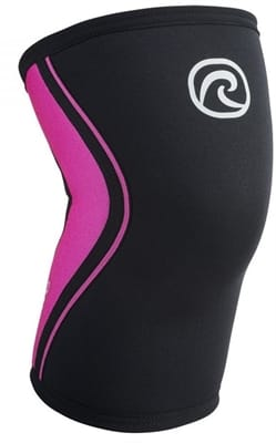 Picture of RX 5mm Knee Sleeve - Black/Pink - S