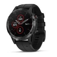Garmin - fēnix® 5X Sapphire Multisport GPS Watch Military