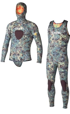 Picture of 5Mm Thermoflex Free Diver 2-Piece - Camo - S