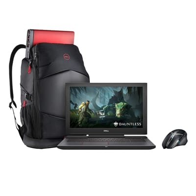 Picture of Dell G5 15 Laptop with Gaming Bundle - i5-8300H - 128GB SSD + 1TB HDD - 8GB DDR4 - GeForce GTX 1050Ti 4GB