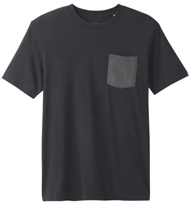 Picture of Men's PrAna Pocket T-Shirt - Black - M