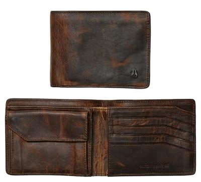 Picture of Men's Arc SE Bi-Fold Wallet - Black/Brown
