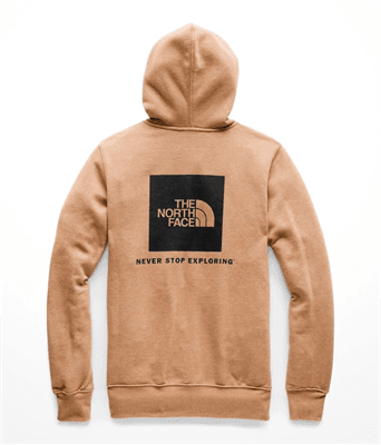 Picture of Men's Red Box Pullover Hoodie - Cargo Khaki Heather/TNF Black - XL