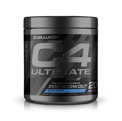 Picture of C4 Ultimate Pre-Workout - Icy Blue Razz - 20 Servings