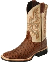 a0e2122976b Justin Western Boots - Men's Paluxy Antique Brown Full Quill Boots ...