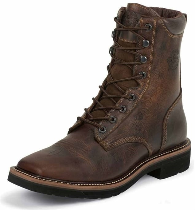 9a46580e338 Justin Original Workboots - Men's Rugged Tan Boots - WK681 Military ...