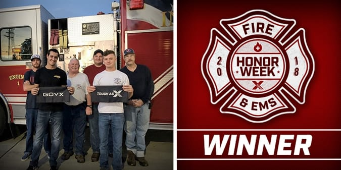 The Volunteers of Cooks Community Are 2018's Firefighter Honor Week Winners!